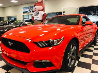 2016 Ford Mustang 2dr Fastback EcoBoost Premium (Competition Orange)