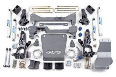 "Buy BDS 7"" SUSPENSION LIFT KIT CHEVY GMC 2500HD 2001-2010 4WD 6.6L DURAMAX 5.3L 6.0L motorcycle in Fairfield, California, US, for US $1,974.99"