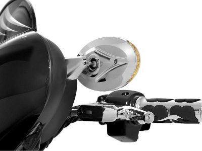 Sell Kuryakyn Blind Spot Turn Signal Mirrors 1456 motorcycle in Ashton, Illinois, US, for US $179.99