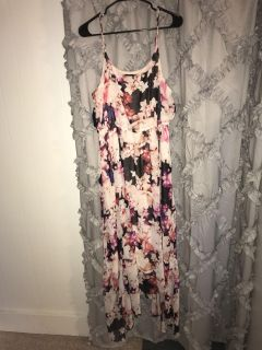 Lane Bryant women s beautiful dress size 14/16 Like New