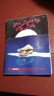 Vintage song book with