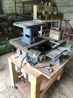 TableSaw - Jointer/Planer - Router/shaper