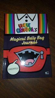 $3 new CN uncle grandpa's magical belly bag journal
