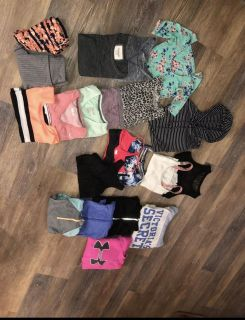 Box of Size small name brand clothes