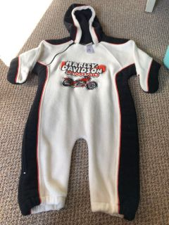 Awesome Harley Davidson Suit 18 months