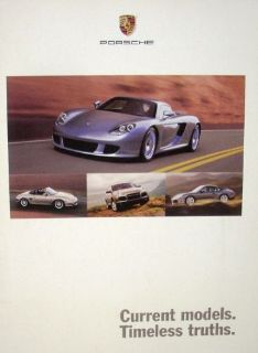 Buy 2004 Porsche Dealer Sales Brochure Full Line Carrera Boxster 911 Turbo Cayenne motorcycle in Holts Summit, Missouri, United States, for US $14.98