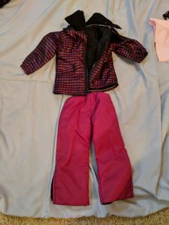 """18"""" doll coat and snow pants for American Girl/Our Generation"""