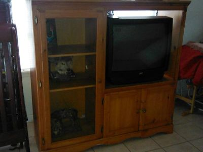 $65, entertainment center $65