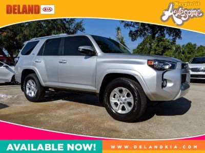 2018 Toyota 4Runner Limited (Classic Silver Metallic)
