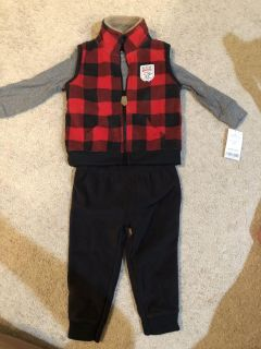 NWT Carter s 3-piece Outfit