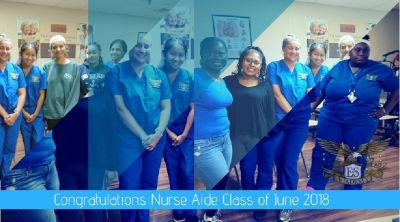 Congratulations! Nurse Aide, CHHA, Phlebotomy, and EKG Classes!