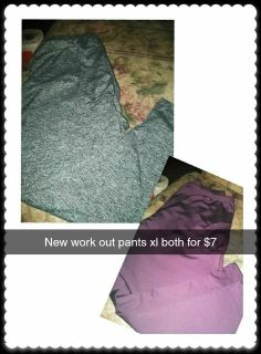 New work out yoga pants includes 2pairs