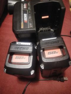New echo 58v battery and charger