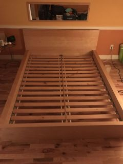 Queen size bed frame FINAL SALE
