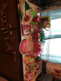 One in a melon party decor