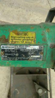 Hitachi Cut-off Saw