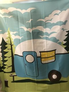 Camper shower curtain. New!