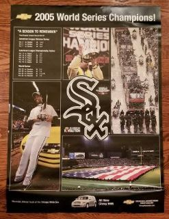 WHITE SOX 2005 World Series Champions Poster