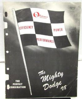 Sell 1964 Offenhauser Power Accessories Brochure For Dodge Cars Intakes Valve Covers motorcycle in Holts Summit, Missouri, United States, for US $64.95
