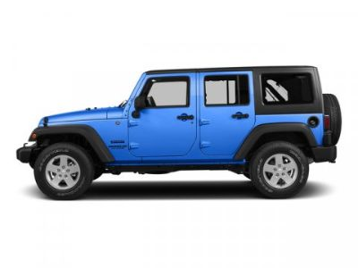 2015 Jeep Wrangler Unlimited Sport (Hydro Blue Pearl Coat)