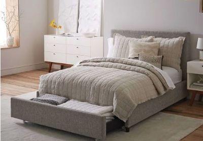 West Elm Storage Bed - Queen