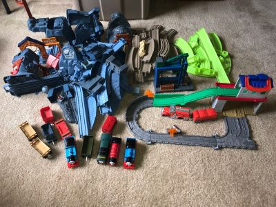HUGE Thomas Train Trackmaster Sets