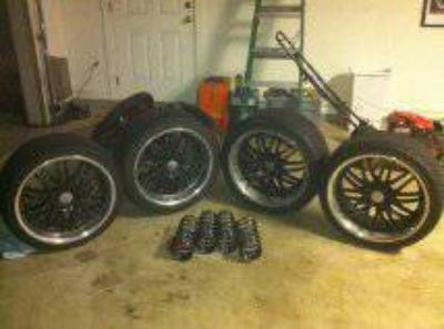 19 Wheels with tires for NissanInfiniti