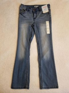NWT Cat & Jack bootcut jeans 7