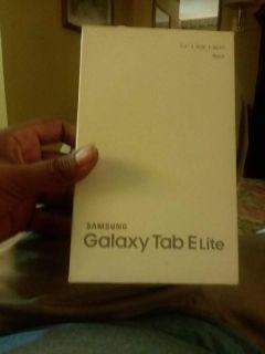 samsung tablet E lite brand new