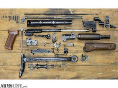For Sale: AK 47 Polish Underfolder Parts kit with barrel, receiver, rivets, G2 trigger