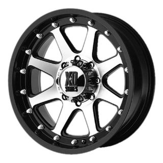 "Sell 6 Lug 139.7 5.5 17"" Inch 1500 Sierra Black n Machined Wheels Set of 4 Rims motorcycle in Rancho Cucamonga, California, United States, for US $835.20"
