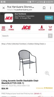 Looking for at least 2 wrought iron chairs. Need extra chairs to accomodate visiting family and on a budget. Please help!