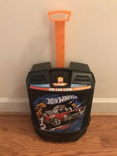 Hot Wheels Rolling Case With Handle