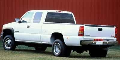 2001 Chevrolet Silverado 3500 Base (Summit White)