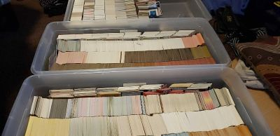 Thousands of Sports Cards-- 80s and 90s