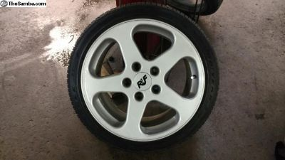 "18"" RUF Porsche Wheels"