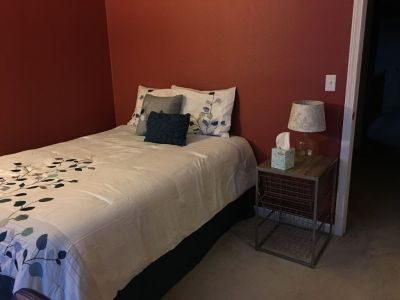 Immediate Availability Rent one of our Beautiful, Clean, Safe, furnished Creekbridge rooms.   We are