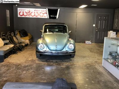Restored Super Beetle Convertible