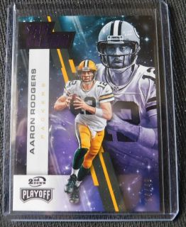AARON RODGERS STAR GAZING PURPLE 4/49 PACKERS