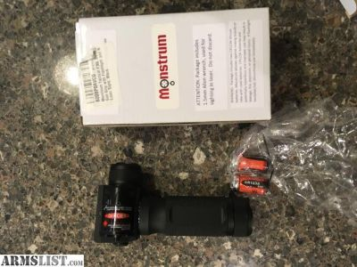 For Sale: Foregrip w/light/laser combo - Monstrum Tactical