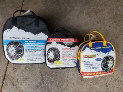 Automobile snow chains