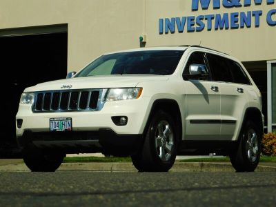 2011 Jeep Grand Cherokee Limited (White)