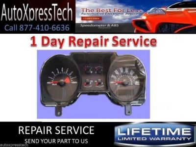 Buy 2006 FORD MUSTANG INSTRUMENT PANEL GAUGE CLUSTER SPEEDOMETER 1 DAY FAST REPAIR motorcycle in Holbrook, Massachusetts, United States, for US $44.99