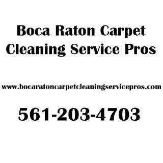 Boca Raton Carpet Cleaning Service Pros