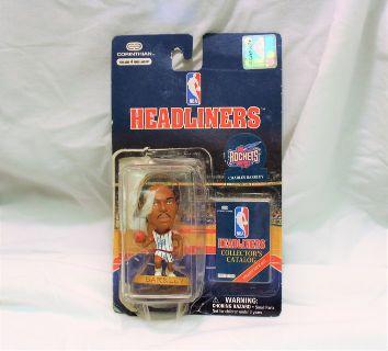 1997 Houston Rockets Charles Barkley #4 Headliners 17078 Action Figure NBA 02029