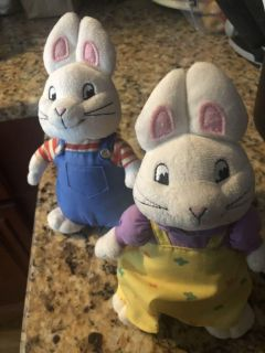 Max and Ruby plush dolls!