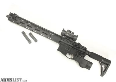 For Sale: Juggernaut Tactical - Compact, High Reliability AR-15 .223/5.56. High end parts throughout.