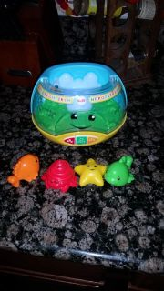 Fisher price fish tank light up toy