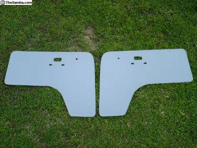 New Bay Front Door Panel Set 68-79 Grey