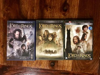 Lord of the Rings DVD Collection